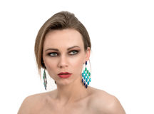 Attractive woman posing Royalty Free Stock Photo