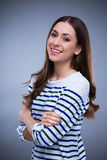Attractive woman smiling Royalty Free Stock Images