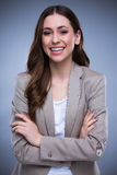 Attractive woman smiling Royalty Free Stock Image