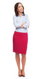 Attractive woman standing Stock Photo