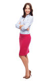 Attractive woman standing Royalty Free Stock Images
