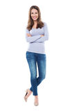 Attractive woman standing Royalty Free Stock Image