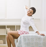 Attractive woman Stretching Royalty Free Stock Photo