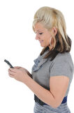 Attractive Woman Using a Smart Phone 09 Stock Photos