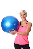Attractive woman working out Stock Photo