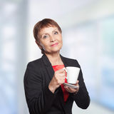 Attractive woman 50 years Stock Photography