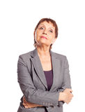 Attractive woman 50 years old Royalty Free Stock Image