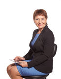 Attractive woman 50 years old Stock Photos