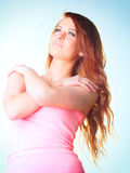 Attractive woman Young girl Royalty Free Stock Photos
