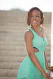 Attractive young African American woman Royalty Free Stock Image