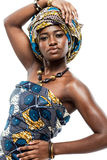 Attractive young African fashion model. Stock Photos