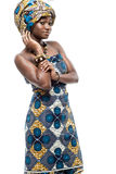 Attractive young African fashion model. Royalty Free Stock Image