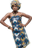Attractive young African fashion model. Stock Photo