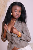 Attractive young African girl Royalty Free Stock Photo