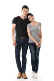 Attractive young Asian couple Stock Image