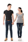 Attractive young Asian couple Royalty Free Stock Image