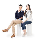 Attractive young Asian couple Royalty Free Stock Images