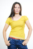 Attractive young asian girl 33 Royalty Free Stock Images