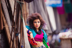 Attractive young Asian girl Royalty Free Stock Images