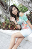 Attractive young Asian Model Stock Image