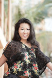 Attractive young Asian Model Royalty Free Stock Photo