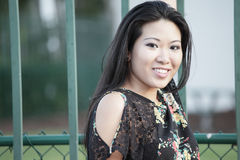 Attractive young Asian Model Royalty Free Stock Image