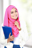 Attractive young asian student Stock Image