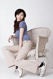 Attractive young Asian woman Royalty Free Stock Image