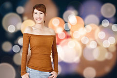 Attractive young Asian woman Royalty Free Stock Photo