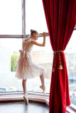 Attractive young ballerina Royalty Free Stock Photography