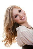 Attractive young blond caucasian woman Royalty Free Stock Images