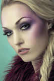 Attractive young blond woman Royalty Free Stock Images