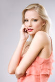 Attractive young blond woman. Royalty Free Stock Photo