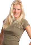 Attractive young blond woman Royalty Free Stock Photos