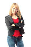 Attractive young blond woman Stock Photography