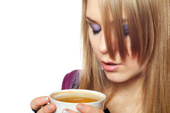 Attractive young blonde Royalty Free Stock Photo