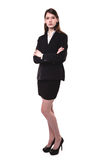 Attractive young blonde businesswoman Stock Photography