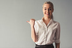Free Attractive Young Business Lady Stock Photography - 91491852