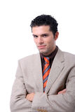 Attractive young business man portrait Royalty Free Stock Photo
