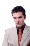 Attractive young business man portrait Stock Images