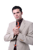 Attractive young business man portrait Stock Image