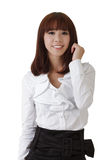 Attractive young business woman Royalty Free Stock Photography