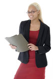 Attractive young business woman Royalty Free Stock Photo