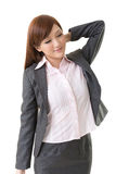 Attractive young business woman Stock Photo