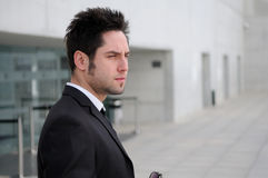 Attractive young businessman Royalty Free Stock Photos