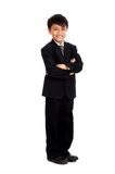 Attractive young businessman Stock Images