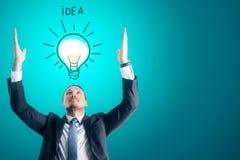 Idea and success concept royalty free stock photos