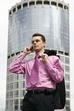 Attractive young businessman2 Stock Photography