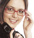 Attractive young businesswoman Stock Photo