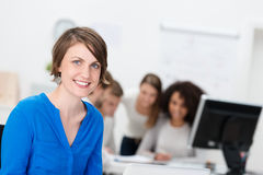Attractive young businesswoman Royalty Free Stock Image